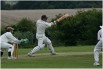 Alan Johnson (captain) batting